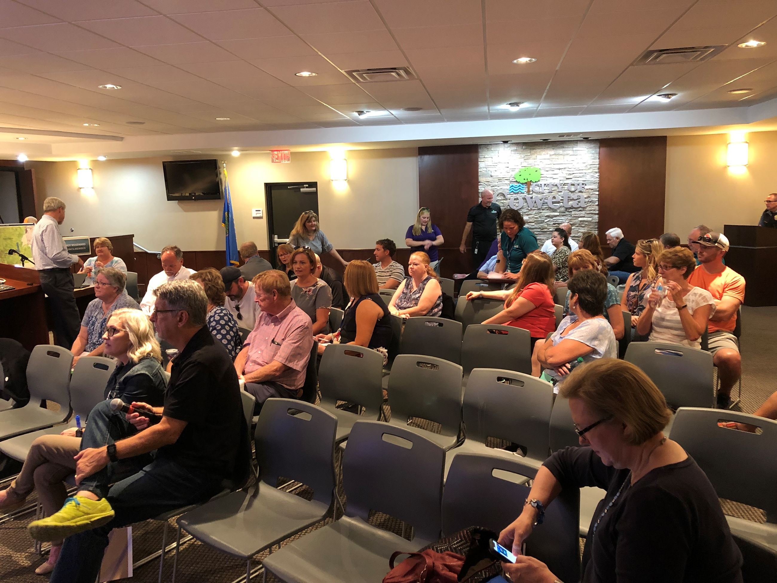 Audience at Comprehensive Plan Meeting