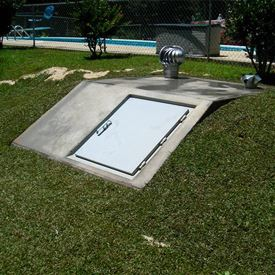 In-Ground Storm Shelter
